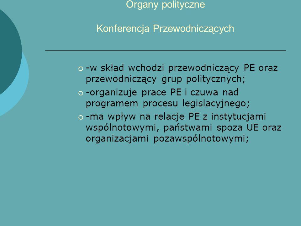 Organy polityczne Konferencja Przewodniczących