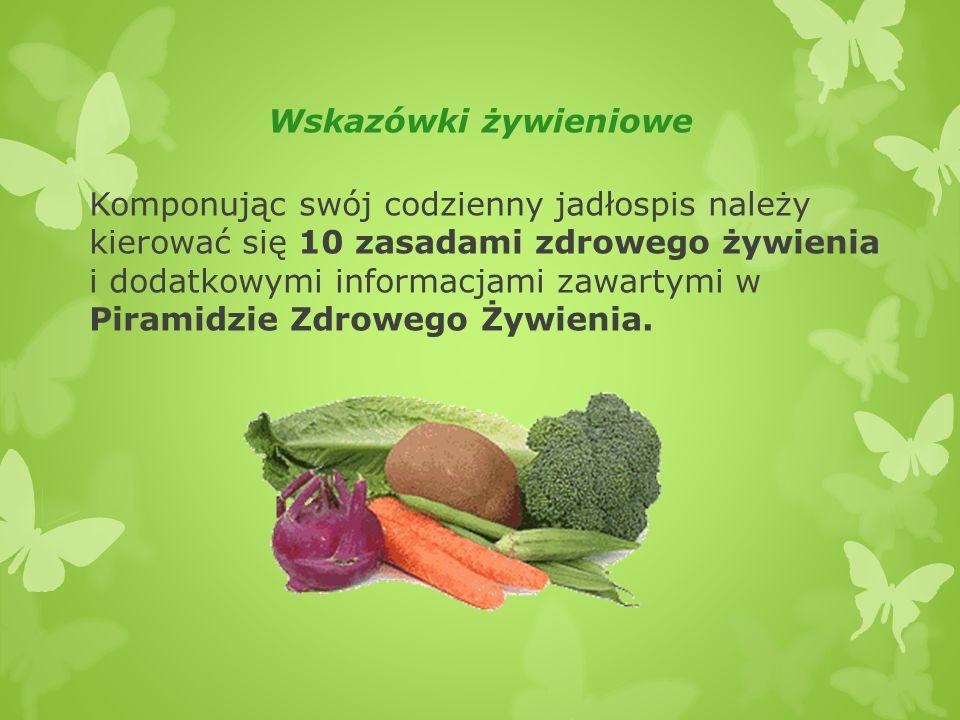 Wskazówki żywieniowe