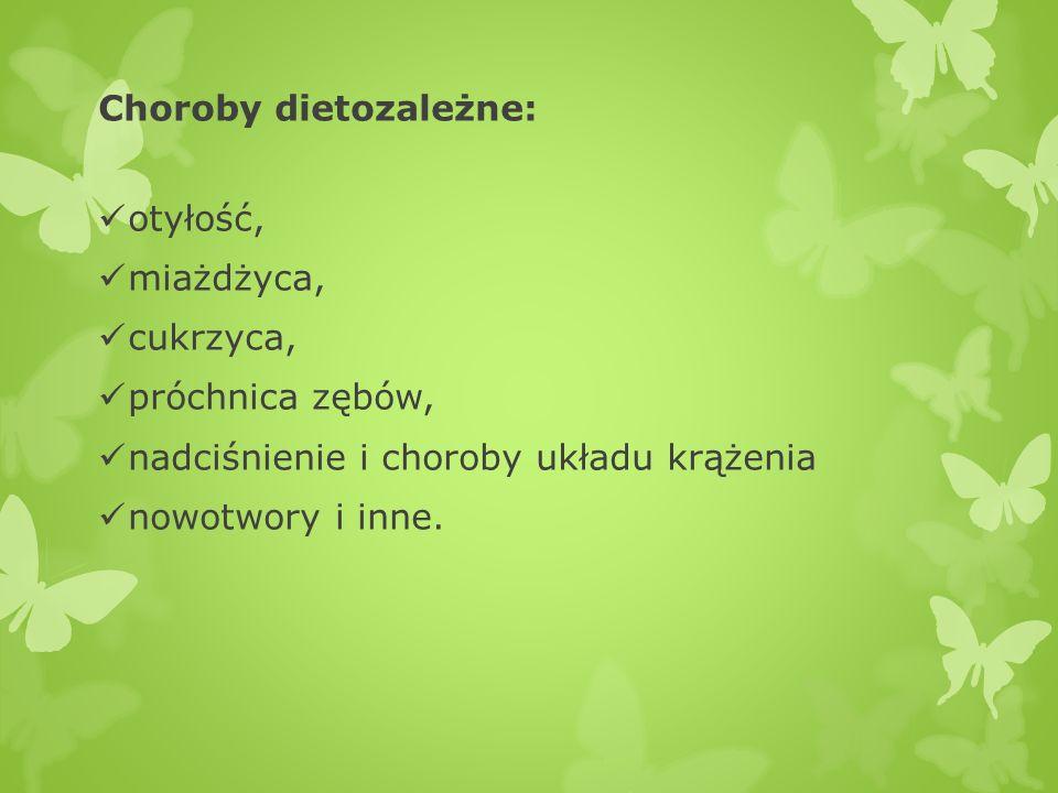 Choroby dietozależne: