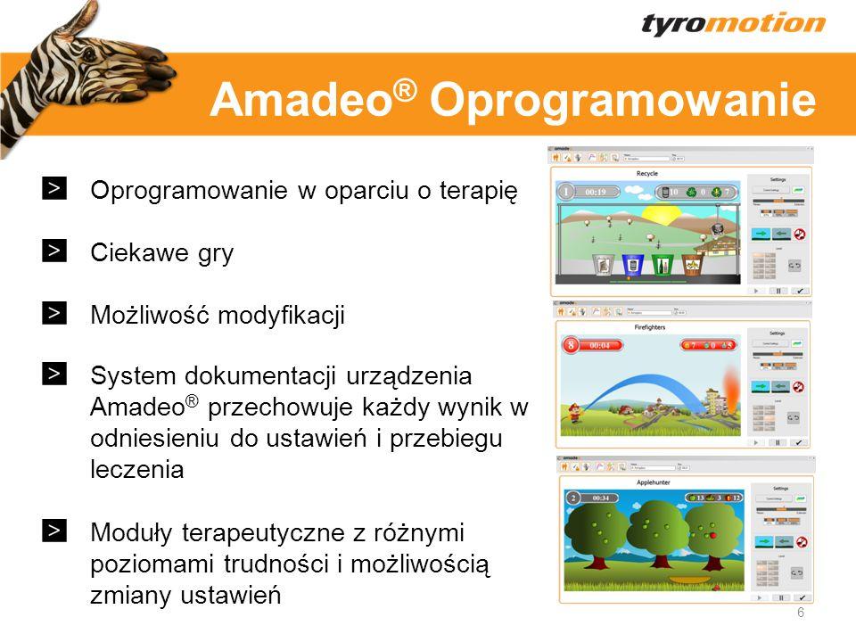 Amadeo® Oprogramowanie