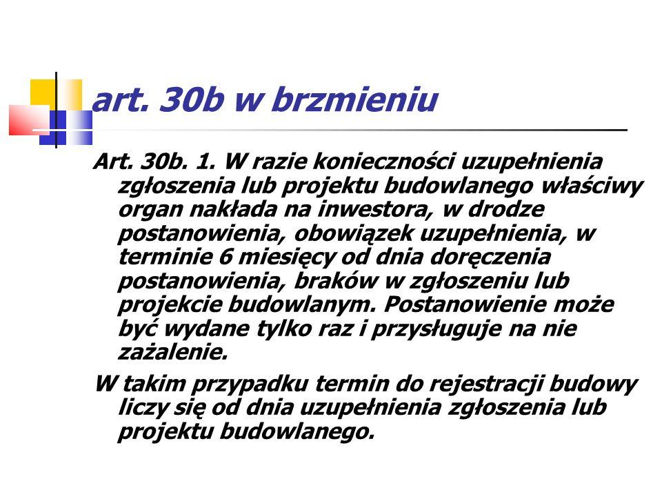 art. 30b w brzmieniu