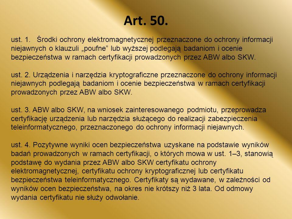 Art. 50.