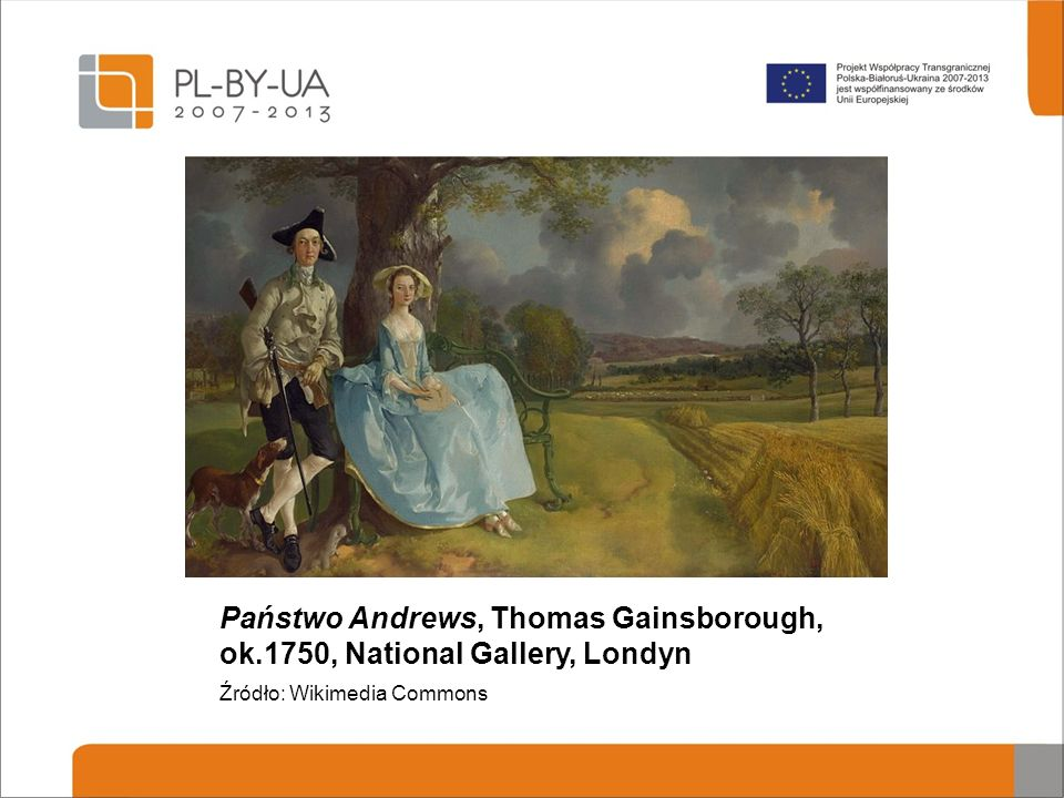 Państwo Andrews, Thomas Gainsborough, ok
