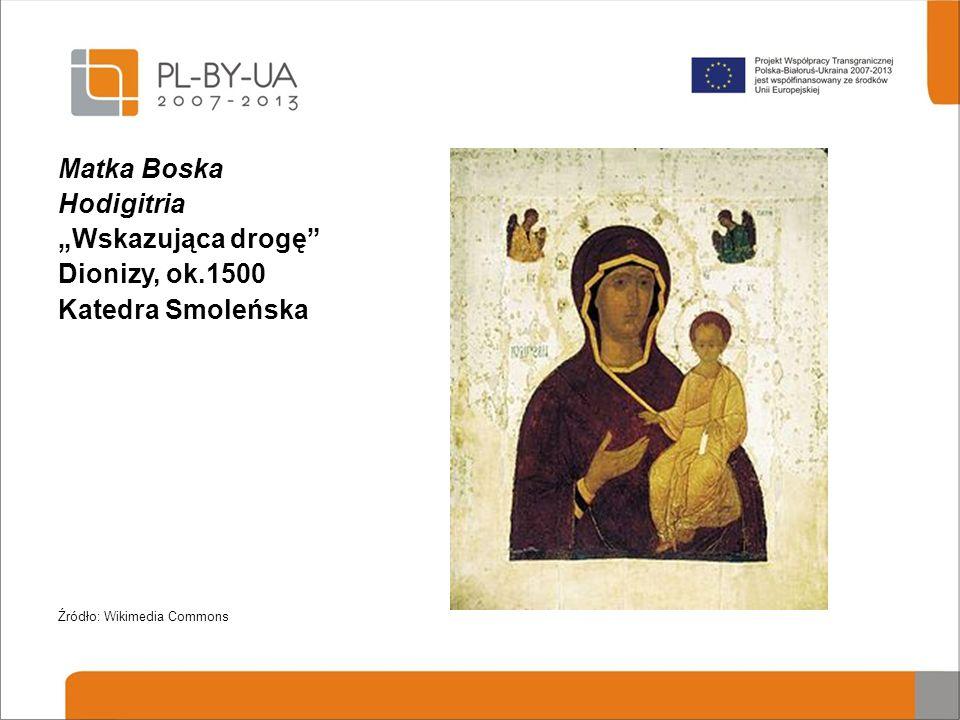 """Matka Boska Hodigitria """"Wskazująca drogę Dionizy, ok.1500"""