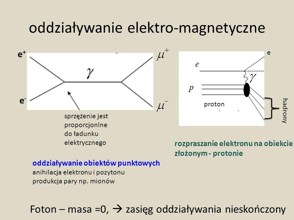 oddziaływanie elektro-magnetyczne