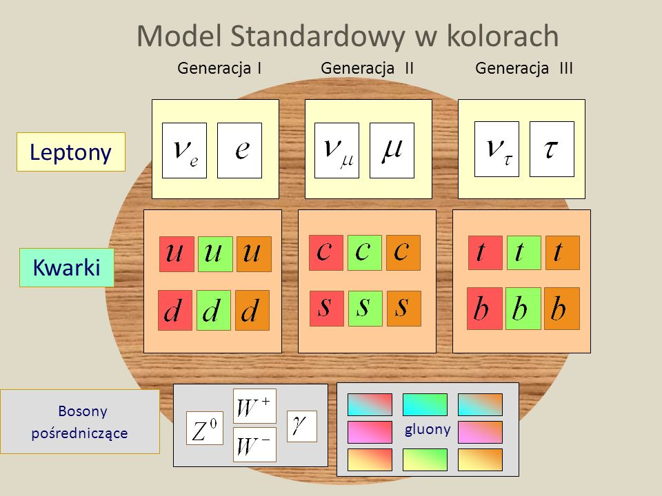 Model Standardowy w kolorach