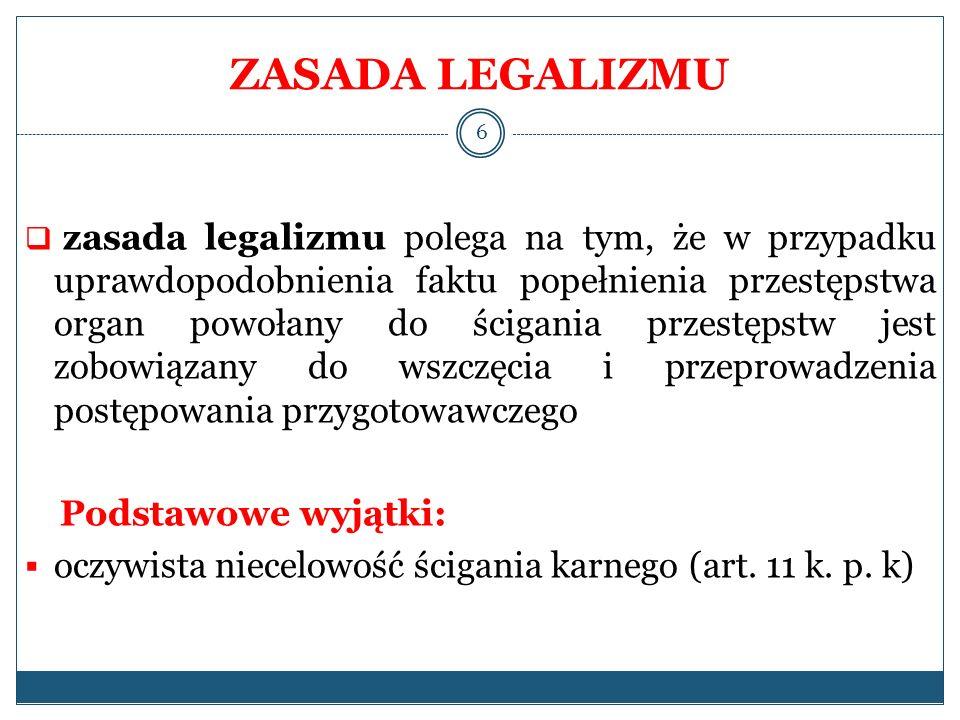 ZASADA LEGALIZMU