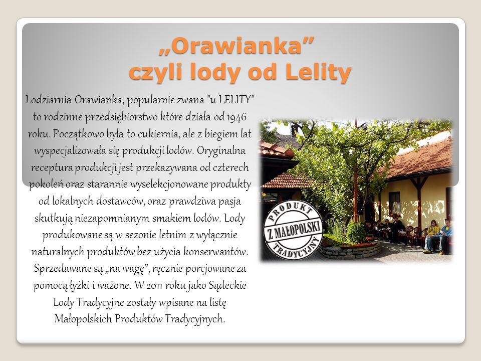 """""""Orawianka czyli lody od Lelity"""