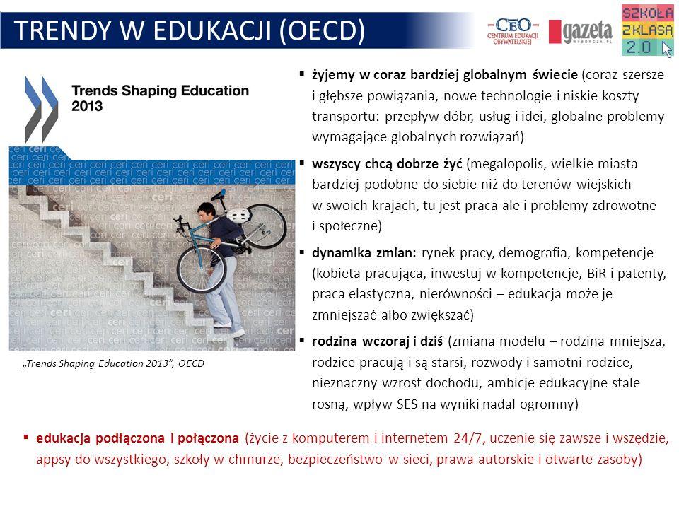 TRENDY W EDUKACJI (OECD)