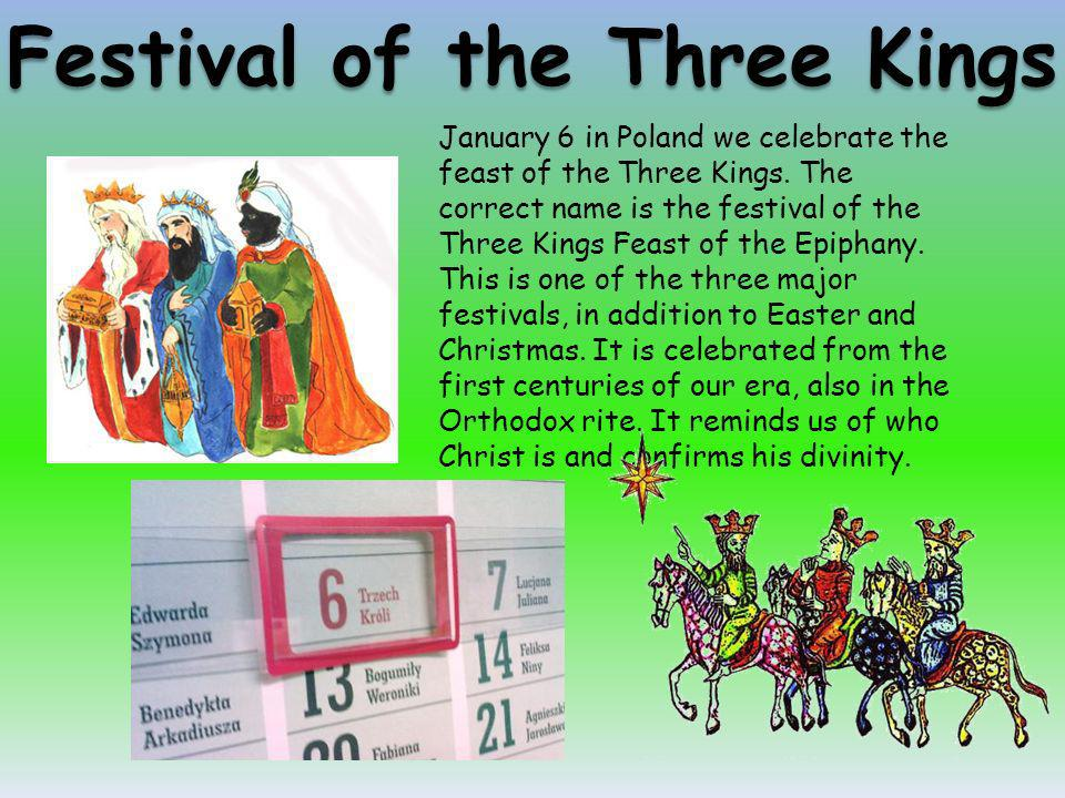 Festival of the Three Kings