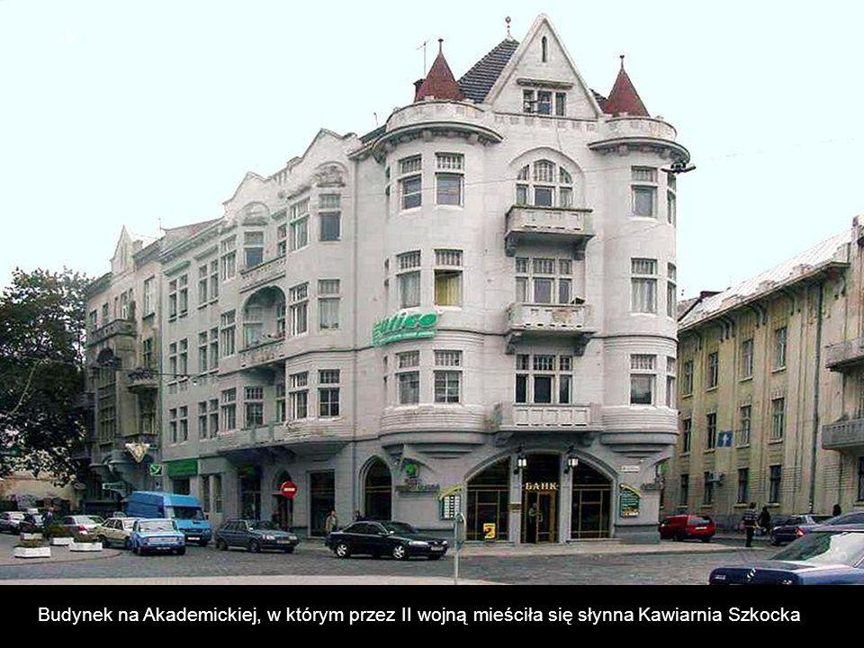 Budynek na Akademickiej, w którym przez II wojną mieściła się słynna Kawiarnia Szkocka