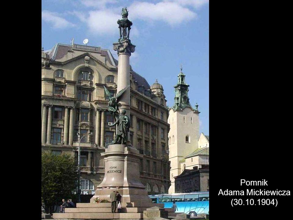 Pomnik Adama Mickiewicza (30.10.1904)