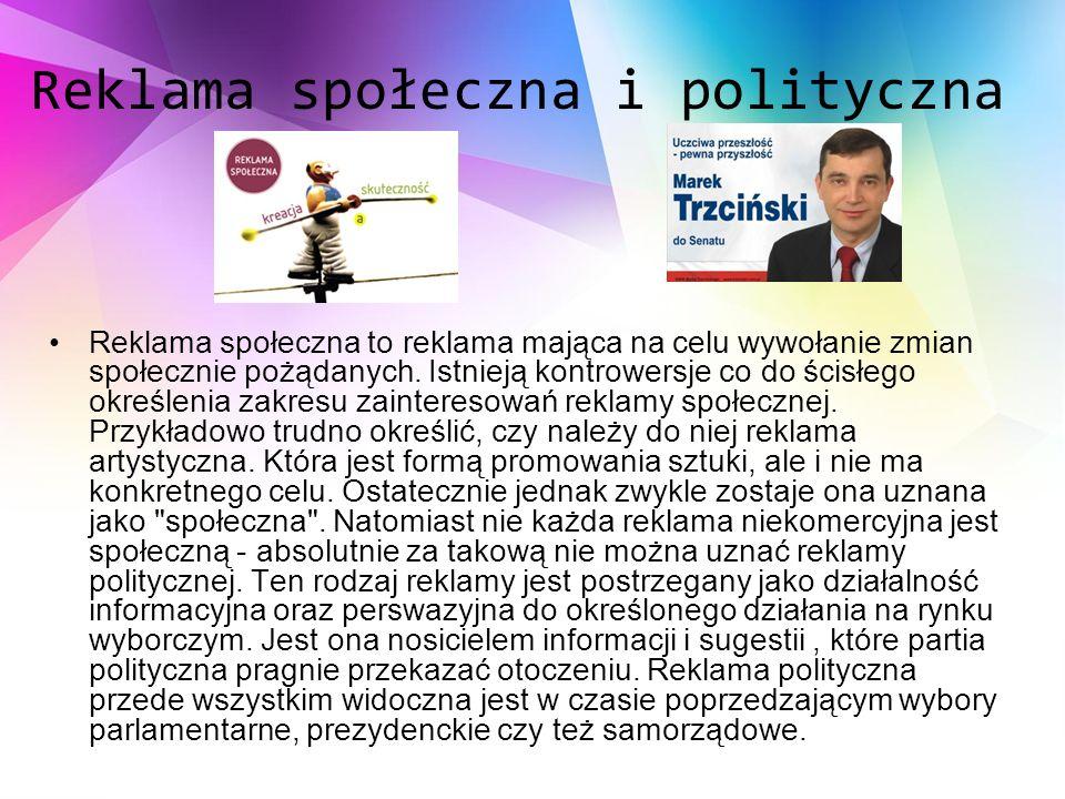 Reklama społeczna i polityczna
