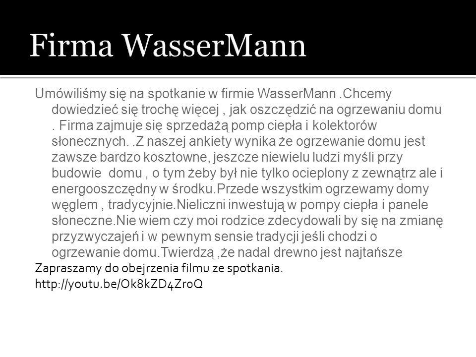 Firma WasserMann