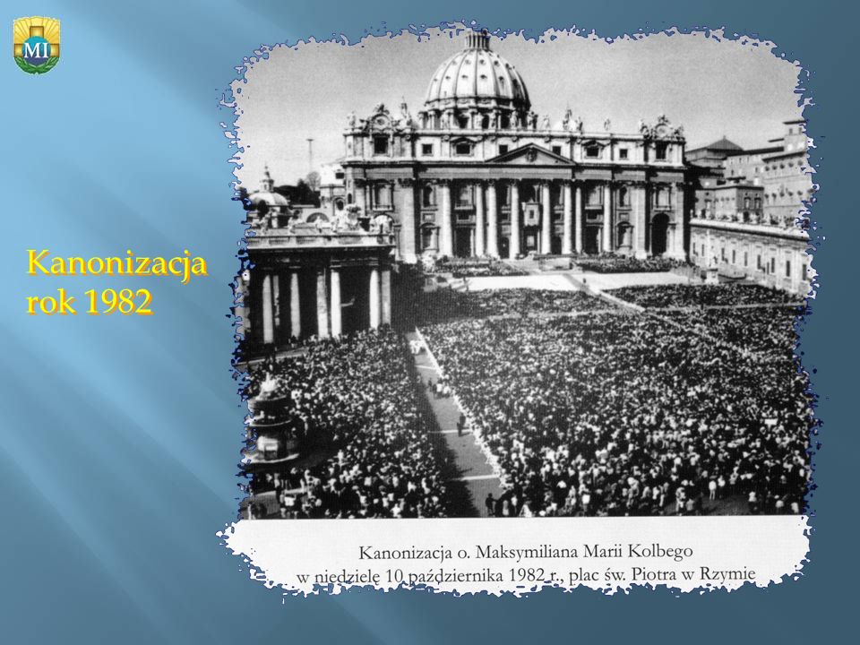 Kanonizacja rok 1982