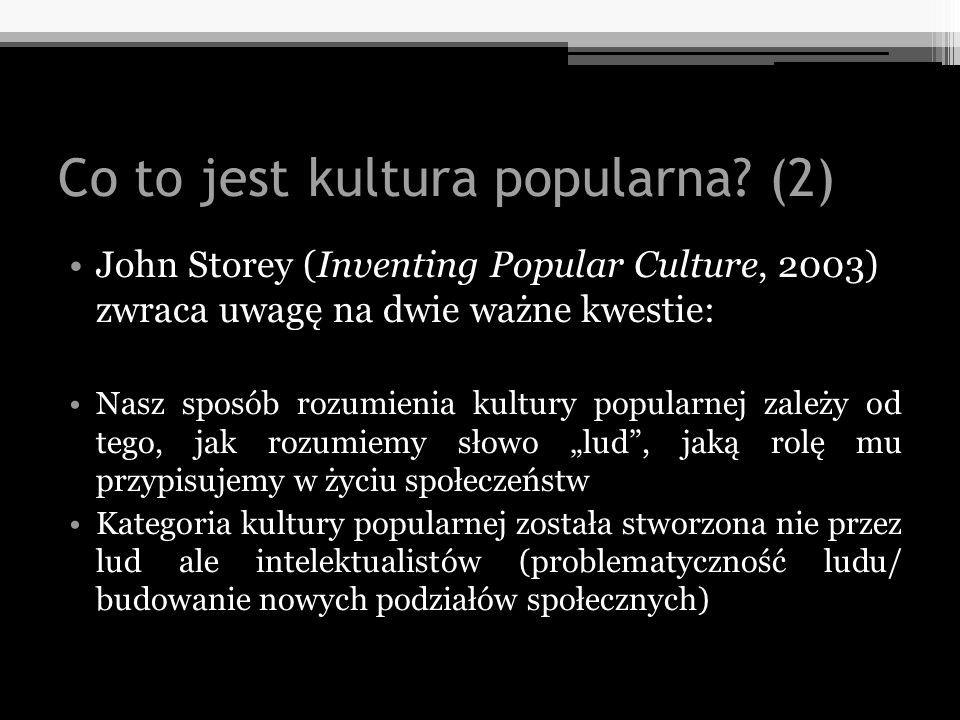 Co to jest kultura popularna (2)