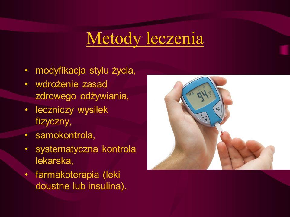 Metody leczenia modyfikacja stylu życia,