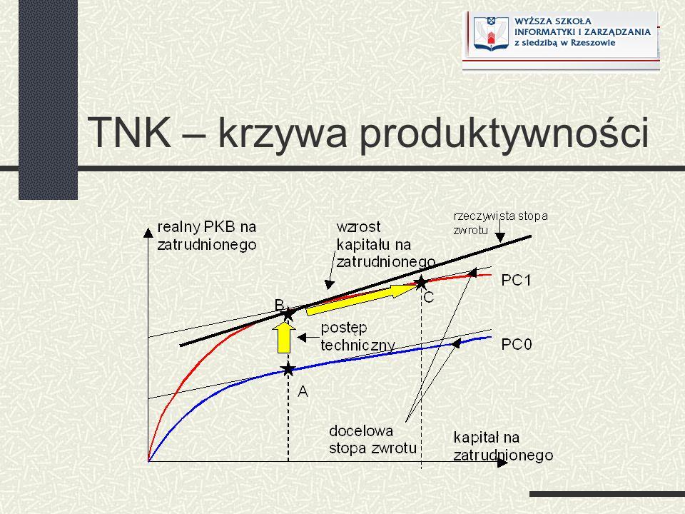 TNK – krzywa produktywności