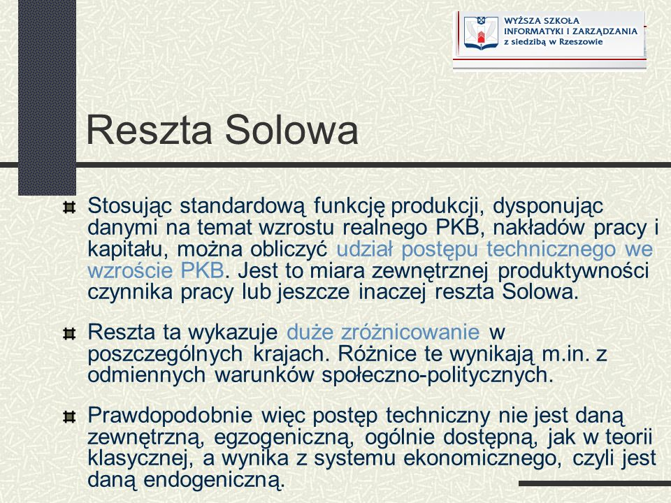 Reszta Solowa