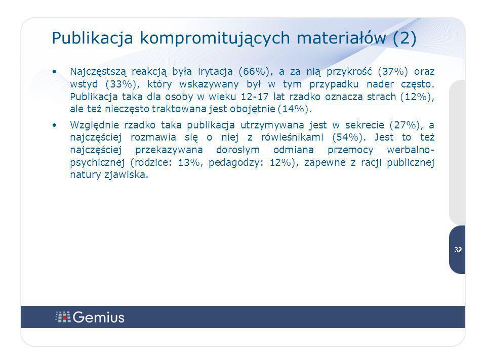 Publikacja kompromitujących materiałów (2)