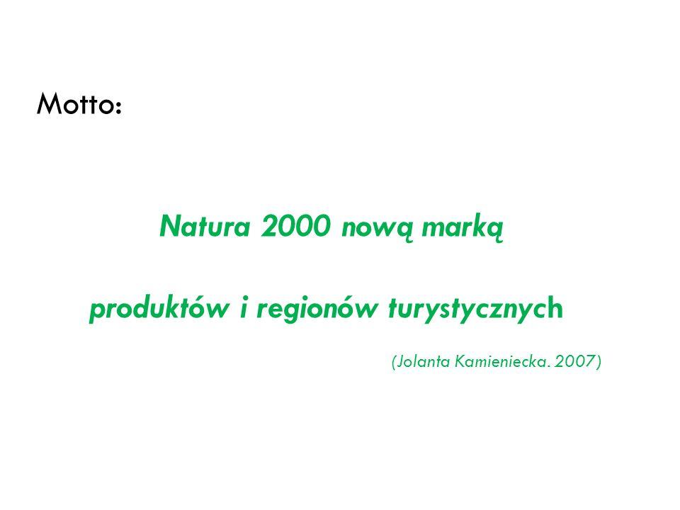 produktów i regionów turystycznych