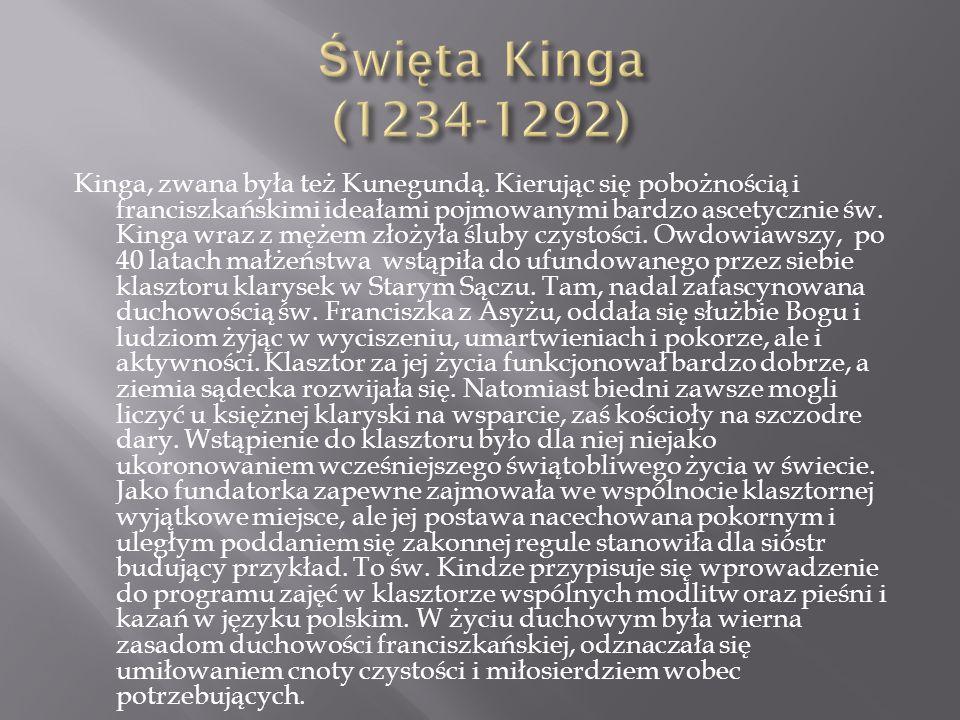 Święta Kinga (1234-1292)