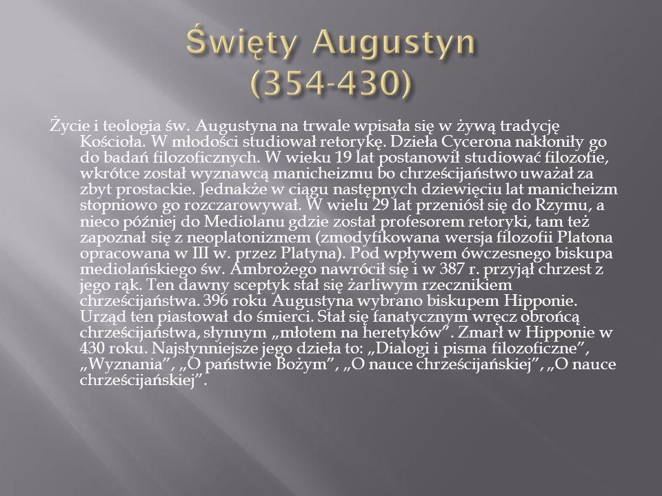 Święty Augustyn (354-430)