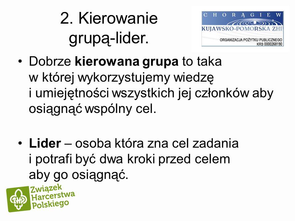 2. Kierowanie grupą-lider.