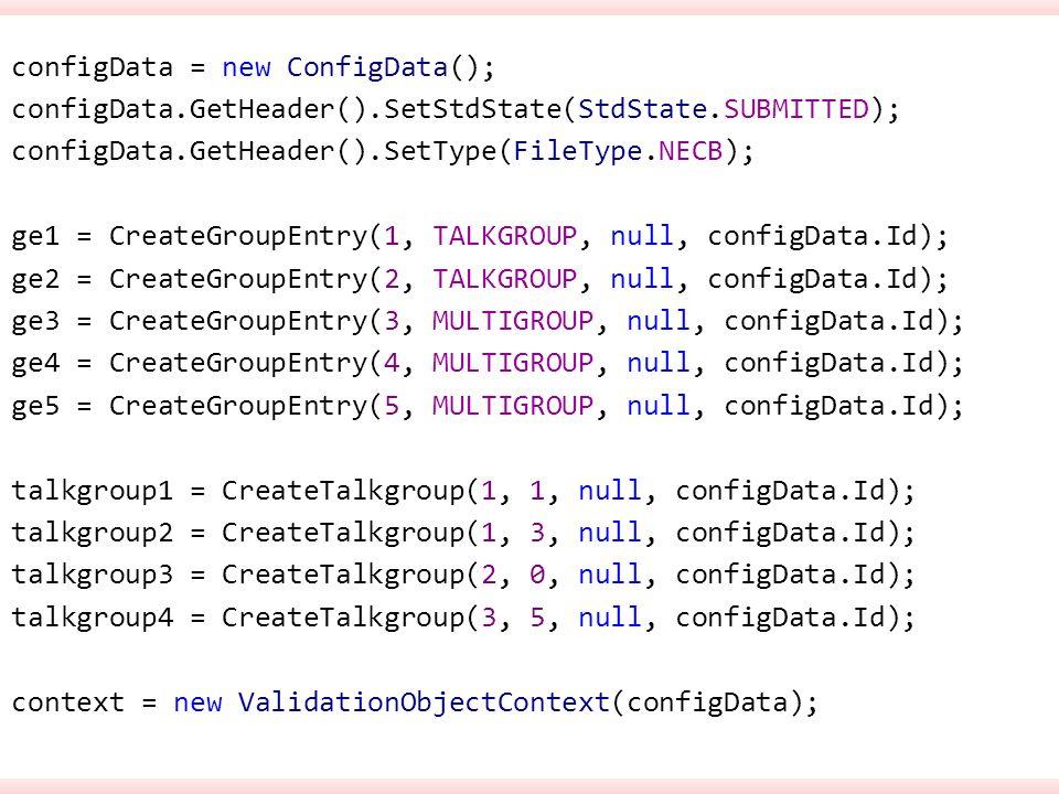 configData = new ConfigData(); configData. GetHeader()
