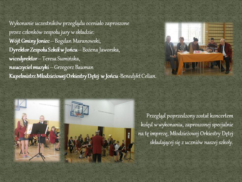 Wykonanie uczestników przeglądu oceniało zaproszone