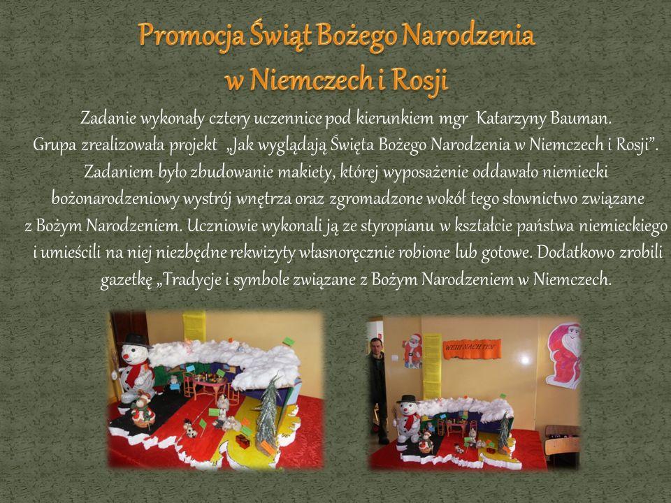 Promocja Świąt Bożego Narodzenia w Niemczech i Rosji