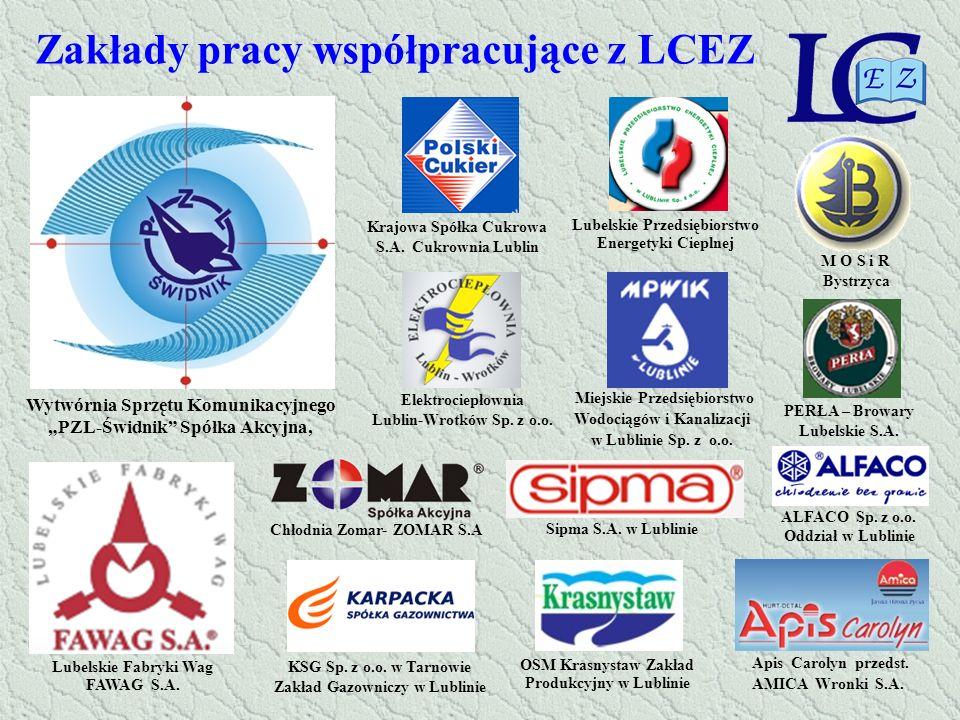 Zakłady pracy współpracujące z LCEZ