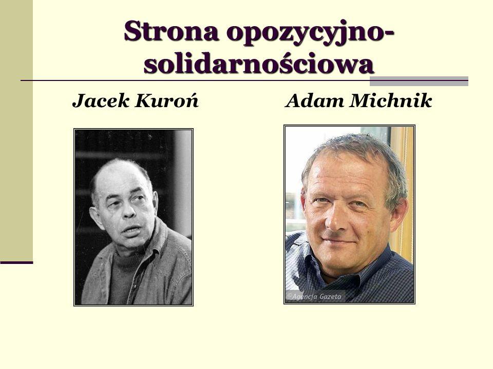 Strona opozycyjno-solidarnościowa