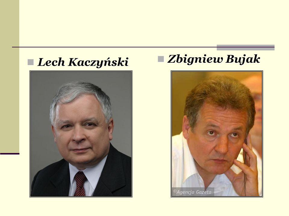 Zbigniew Bujak Lech Kaczyński