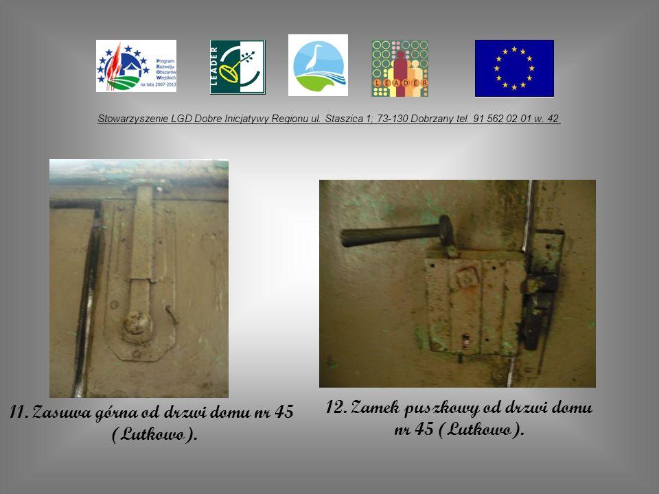 12. Zamek puszkowy od drzwi domu nr 45 (Lutkowo).