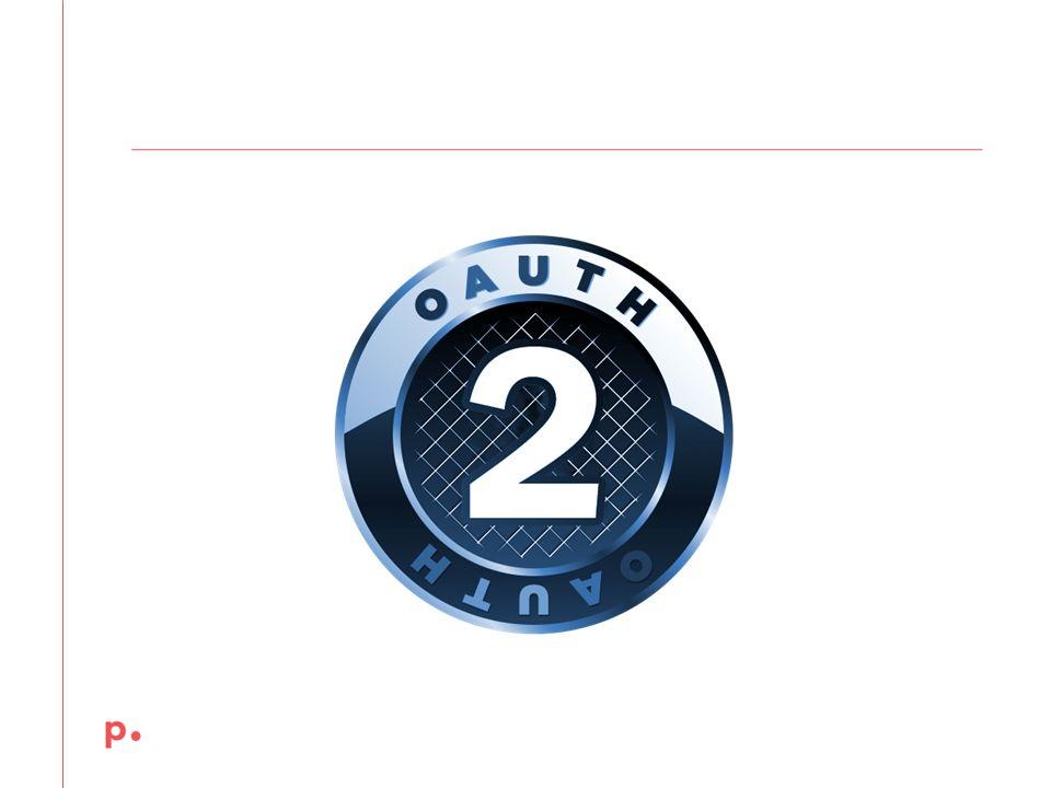 December 12,2013 Oauth powstał w odpowiedzi a rosnącą potrzebę dostep do danych I usług poprzez API.