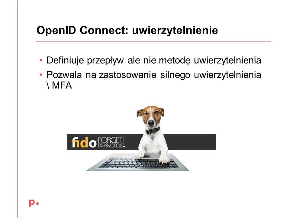 OpenID Connect: uwierzytelnienie