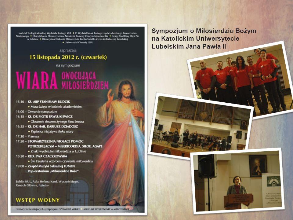 Kursy, sympozja Sympozjum o Miłosierdziu Bożym