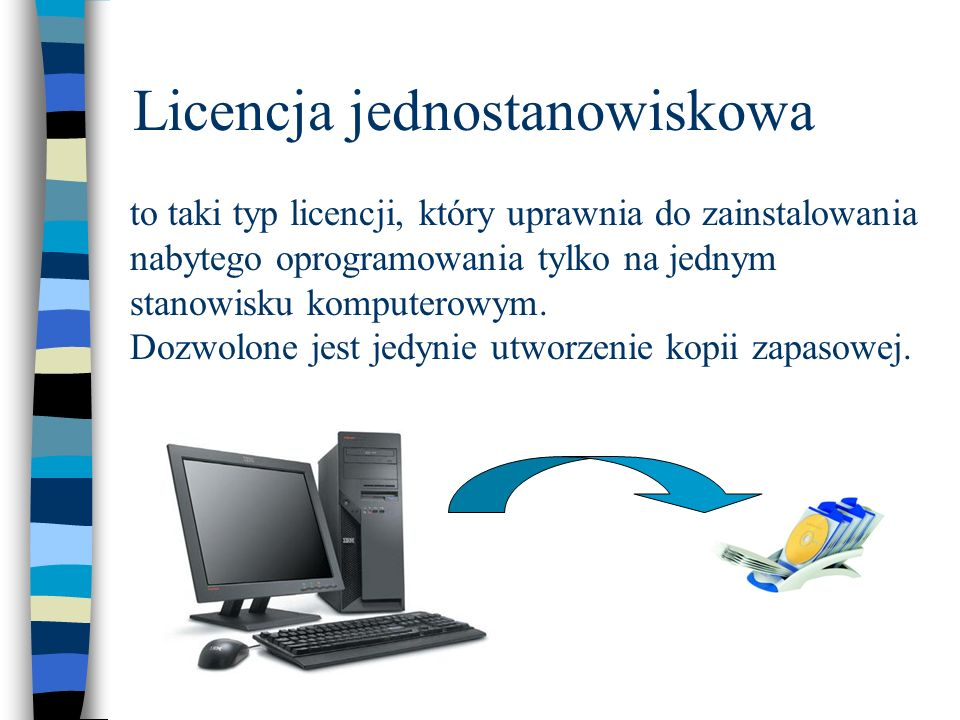 Licencja jednostanowiskowa