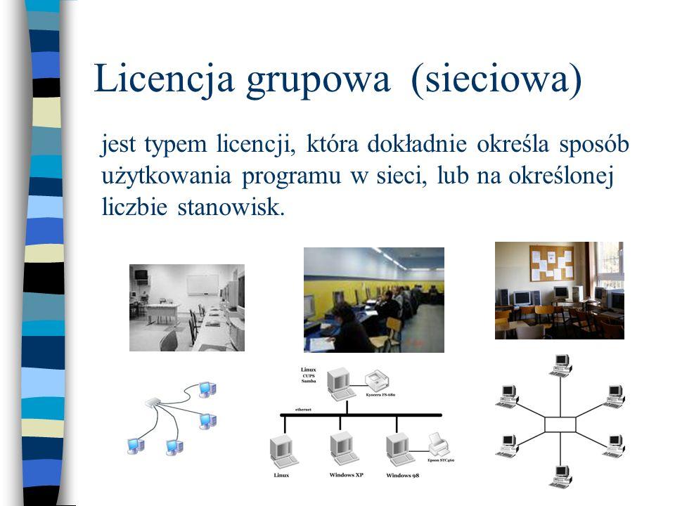 Licencja grupowa (sieciowa)