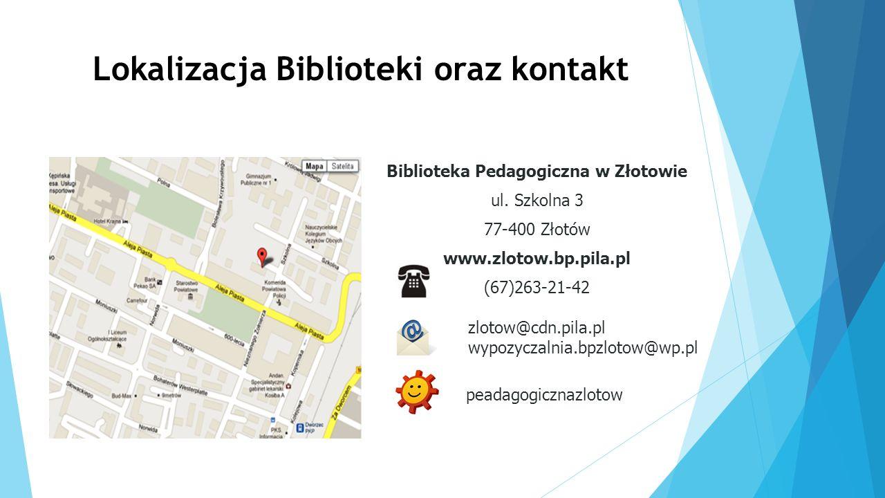 Lokalizacja Biblioteki oraz kontakt