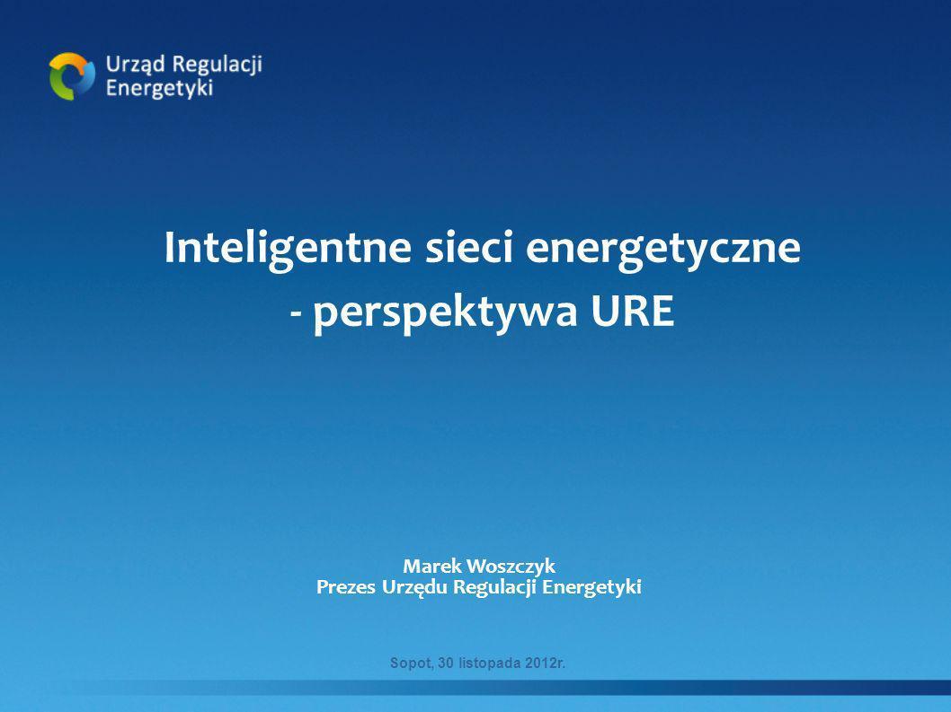 Inteligentne sieci energetyczne Prezes Urzędu Regulacji Energetyki