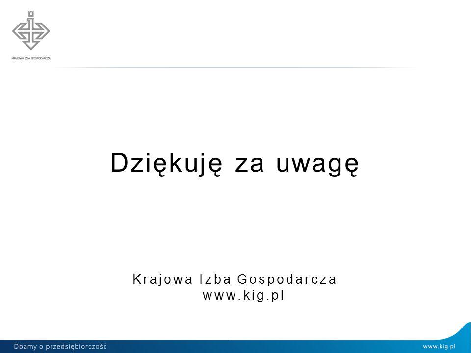 Krajowa Izba Gospodarcza www.kig.pl