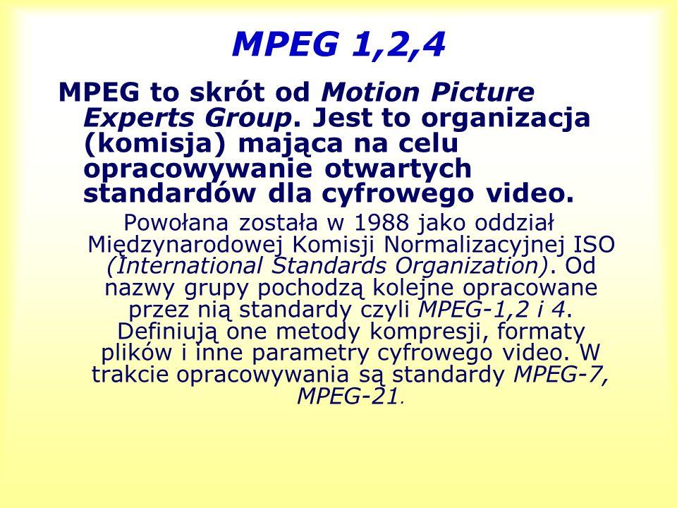 MPEG 1,2,4