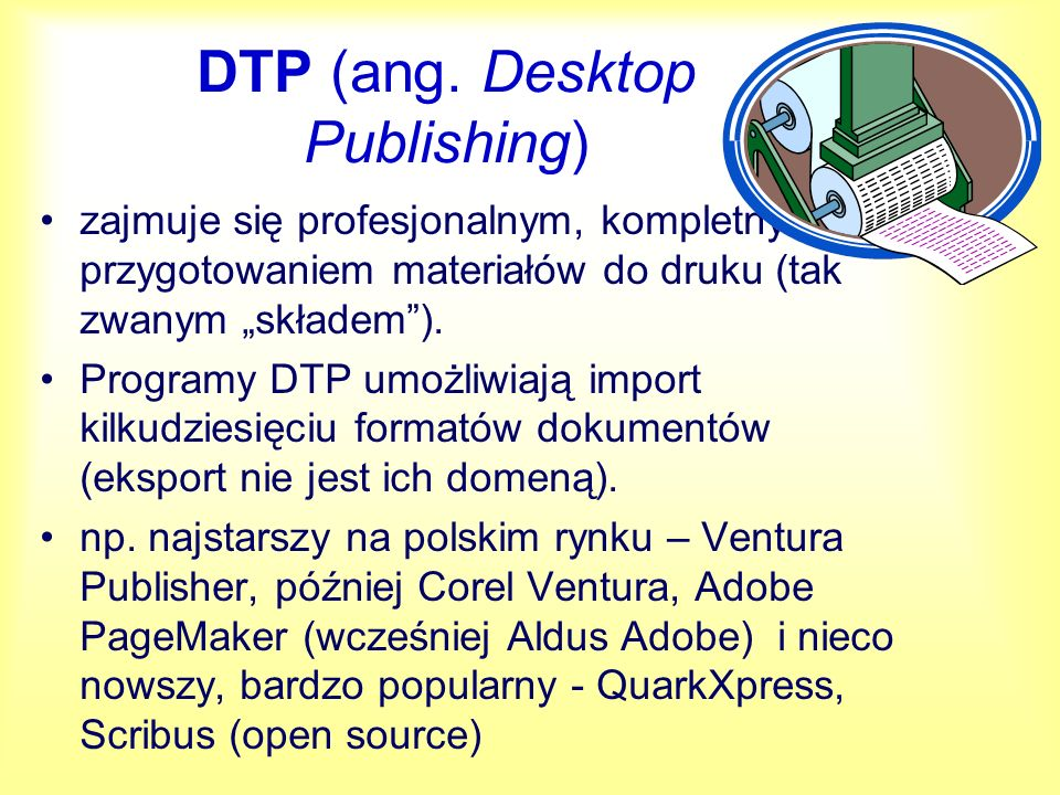 DTP (ang. Desktop Publishing)