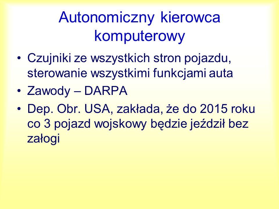 Autonomiczny kierowca komputerowy