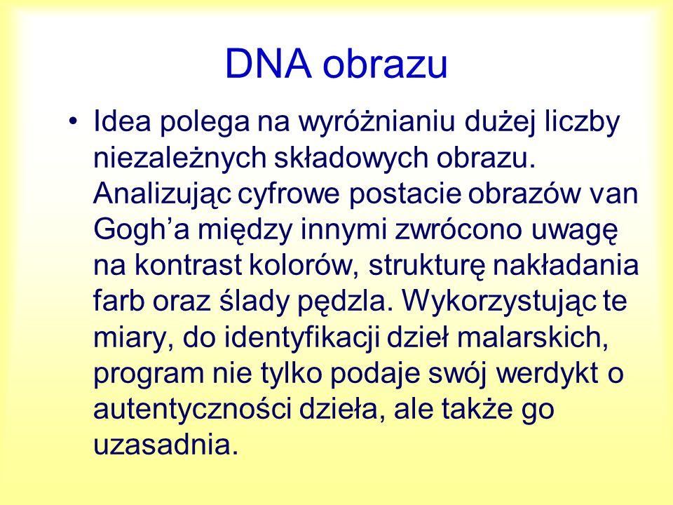 DNA obrazu