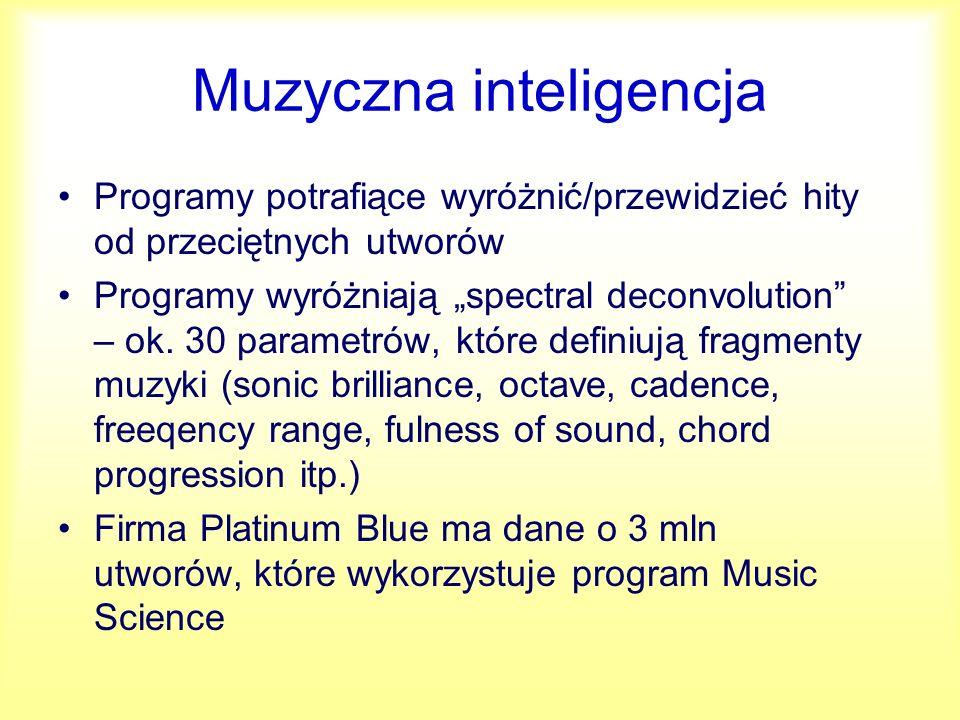 Muzyczna inteligencja