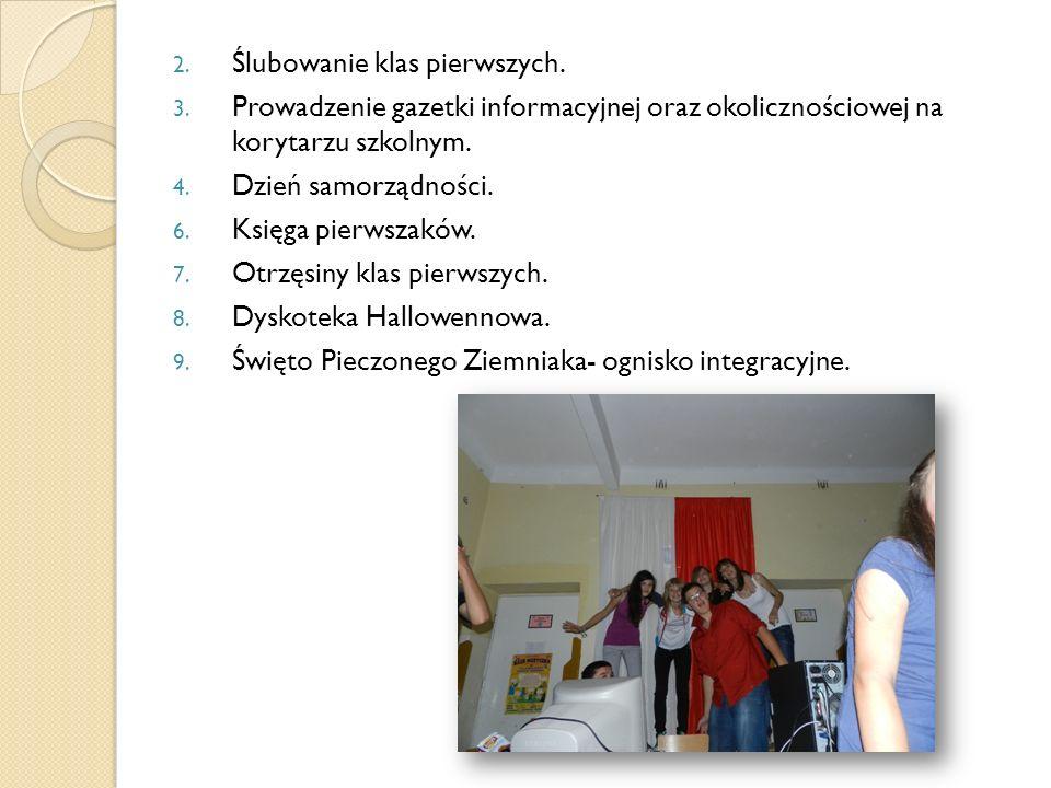 Ślubowanie klas pierwszych.
