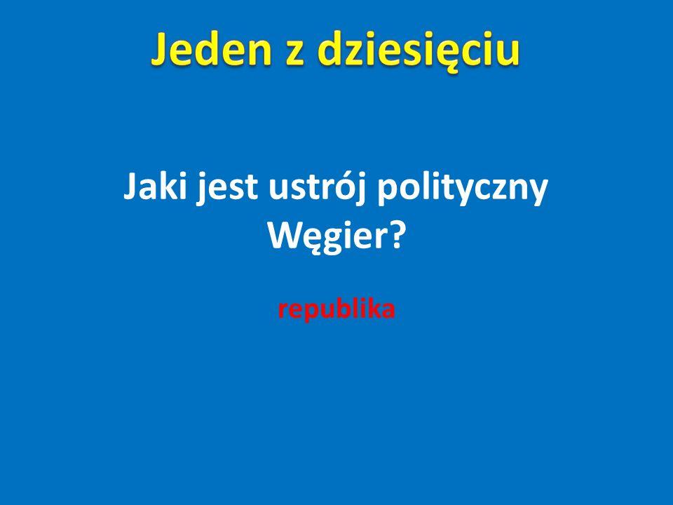 Jaki jest ustrój polityczny Węgier
